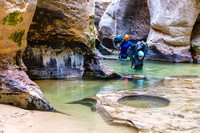Canyoneering - The Subway in Zion National Park-8