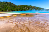 Grand Prismatic Pool Ripples