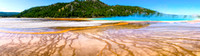 Grand Prismatic Pool Pano
