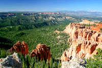 Bryce Canyon National Park Scenery, Utah