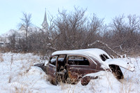 Abandoned Cars on the Prairie, Central North Dakota-2-3