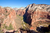 Scenery on the Hike to Angels Landing, Zion National Park, Utah-9