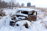 Abandoned Cars on the Prairie, Central North Dakota-4
