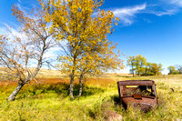 Abandoned Cars on the Prairie, Central North Dakota-2-2