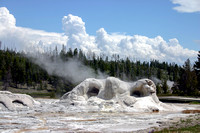 Grotto Geyser, Yellowstone National Park, Wyoming
