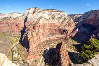 Scenery from Angels Landing, Zion National Park, Utah-7