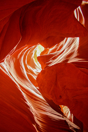 Antelope Canyon Slot Scenery, Arizona-12