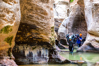 Canyoneering - The Subway in Zion National Park-7