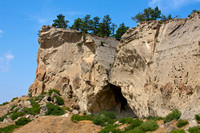 Pictograph Park Ghost Cave Scenery, Montana-4
