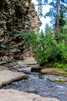 Hike to the Devils Bathtub, Spearfish Canyon, Black Hills of SD