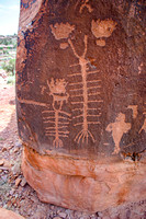Pictographs, Arches National Park, Utah-7