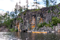 Kayaking in the Boundary Waters Canoe Area
