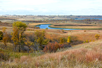 Autumn View, Upper Souris National Wildlife Refuge, North Dakota