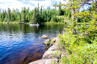 Canoeing in the Boundary Waters Canoe Area