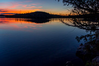 Sunset in the Boundary Waters Canoe Area