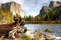 Yosemite Valley and the Merced River, Yosemite National Park, California