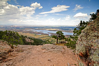 View from the top of Arthur's Rock, near Fort Collins, Colorado-6