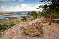 View from the top of Arthur's Rock, near Fort Collins, Colorado-8