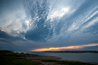 Storm Clouds at Sunset, Wolf Creek, Lake Sakakawea, North Dakota