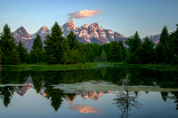 Reflection at Schwabacher's Landing, Grand Teton National Park, Wyoming-7