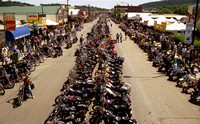 Motorcycles in Sturgis at the Black Hills Rally