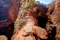 Scenery on the Hike to Angels Landing, Zion National Park, Utah-7