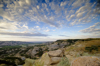 Badlands scenery - Theodore Roosevelt National Park-6