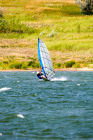 Sailboarding, Lake Sakakawea, North Dakota