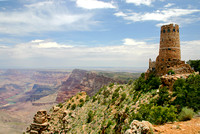 Desert View Watchtower on the Grand Canyon, Arizona-6