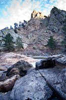 Poudre River Canyon Scenery, near Fort Collins, Colorado-13