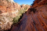 Scenery on the Hike to Angels Landing, Zion National Park, Utah