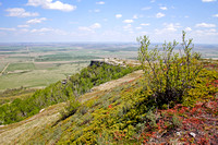 View from the top of the Killdeer Mountains near Medicine Hole, North Dakota-10