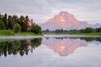 Sunrise at Oxbow Bend, Grand Teton National Park, Wyoming-1
