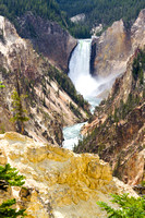 Lower Falls of the Yellowstone River, Yellowstone National Park, Wyoming-5