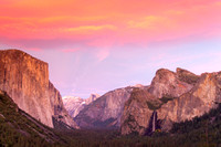 Yosemite Valley after Sunset, Yosemite National Park, California