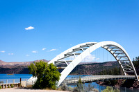Flaming Gorge Bridge, Utah