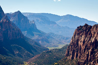 Scenery from Angels Landing, Zion National Park, Utah