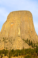 Excellent Scenic View of Devils Tower National Monument, Wyoming-4