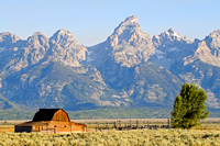 Morman Barn at Sunrise, Grand Teton National Park, Wyoming-23