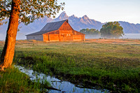 Morman Barn at Sunrise, Grand Teton National Park, Wyoming-8