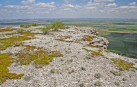 View from the top of the Killdeer Mountains near Medicine Hole, North Dakota-7