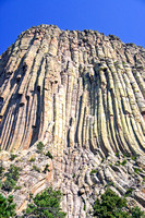 Close Views of Devils Tower National Monument, Wyoming-3