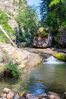The Devils Bathtub, Spearfish Canyon, Black Hills of SD
